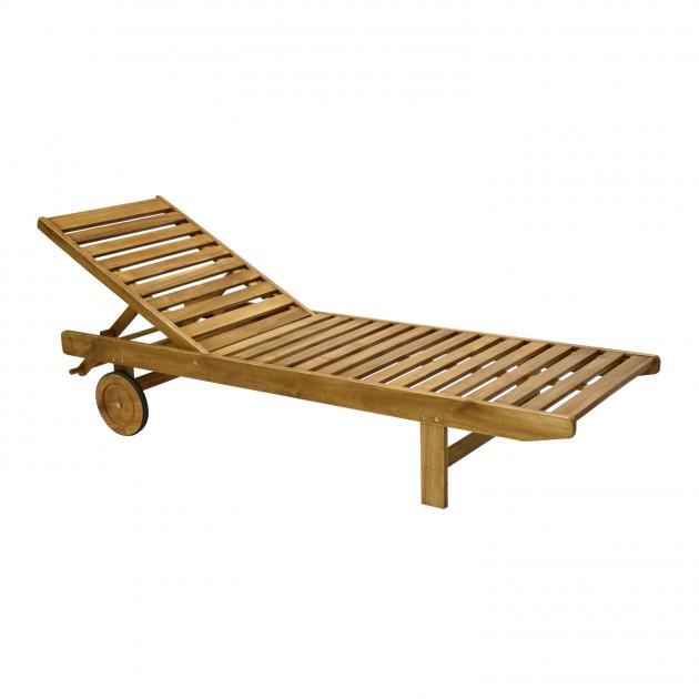 Шезлонг Finlay (13190) - Пляжні шезлонги Garden4You