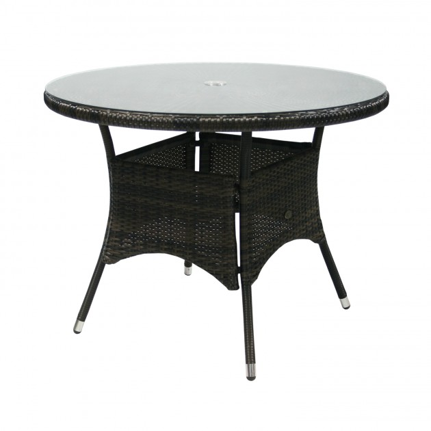 Обідній стіл Wicker (13323) - Обідні столи Garden4You