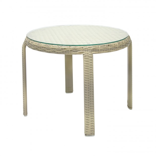 Приставной столик Wicker (13373) - Кавові столики Garden4You