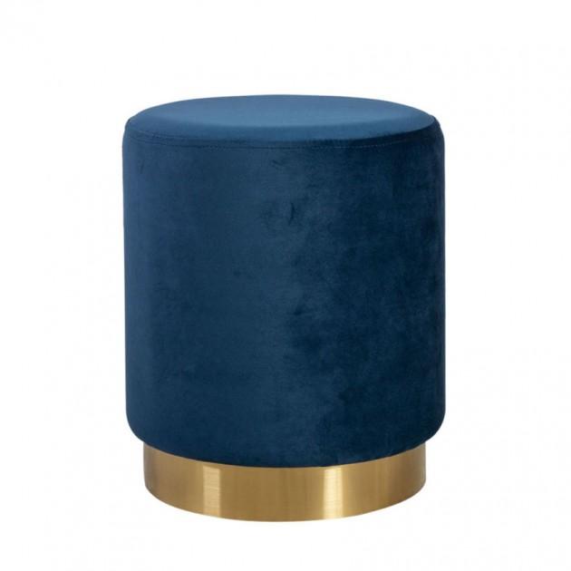 Пуфик La Perla Deep Blue (84605) - Пуфи і банкетки Home4You
