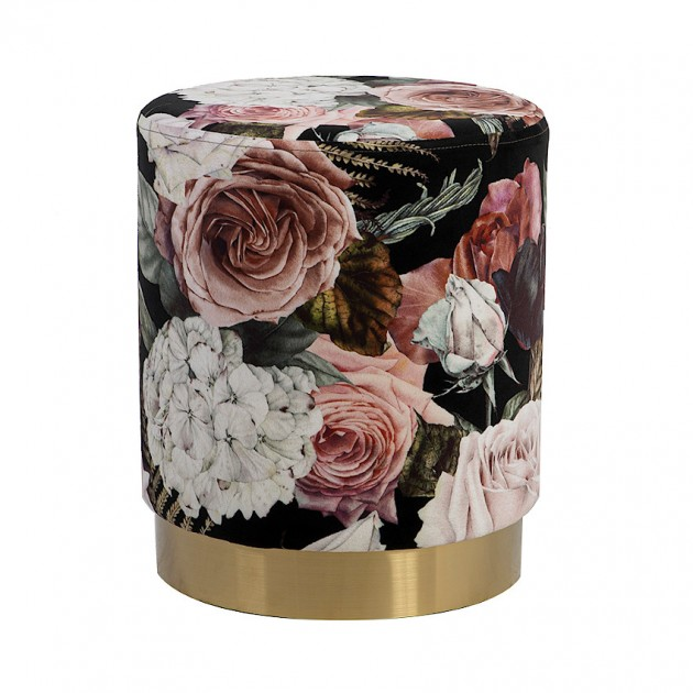 Пуфик La Perla Flowers (84608) - Пуфи і банкетки Home4You