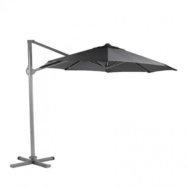 Кругла парасоля Roma Dark Grey (19435) - Парасолі для кафе Garden4You