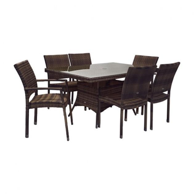 Столовий комплект Wicker (k11984) - Столові комплекти Garden4You