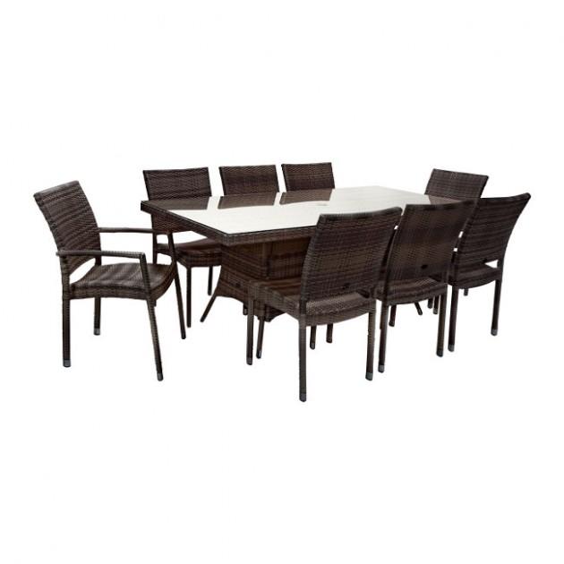 Столовий комплект Wicker (k11994) - Столові комплекти Garden4You