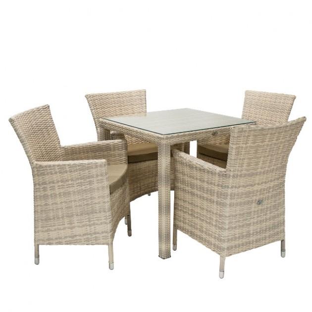 Столовий комплект Wicker (k13345) - Столові комплекти Garden4You