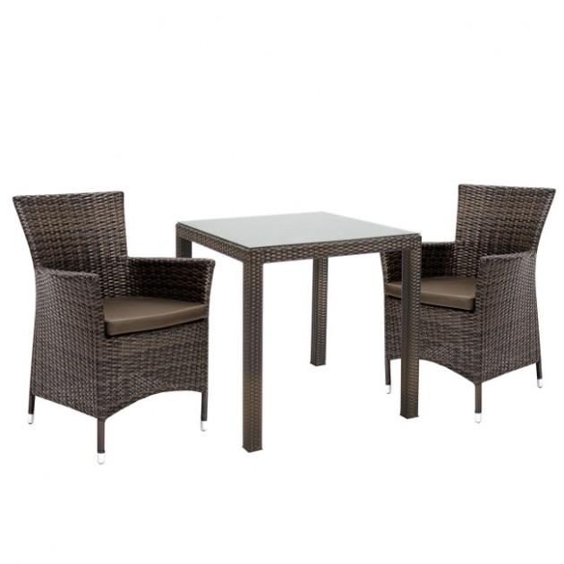 Столовий комплект Wicker (k133481) - Столові комплекти Garden4You
