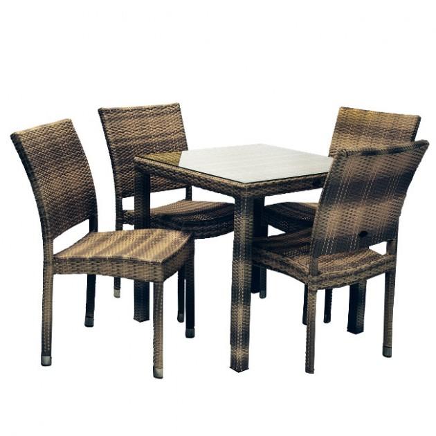 Столовий комплект Wicker (k133482) - Столові комплекти Garden4You