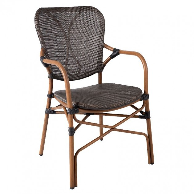 Крісло Bambus (18628) - Вуличні крісла для кафе Garden4You