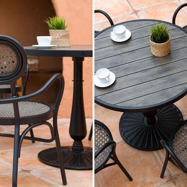 Круглий стіл Bolgheri (18642) - Обідні столи Garden4You
