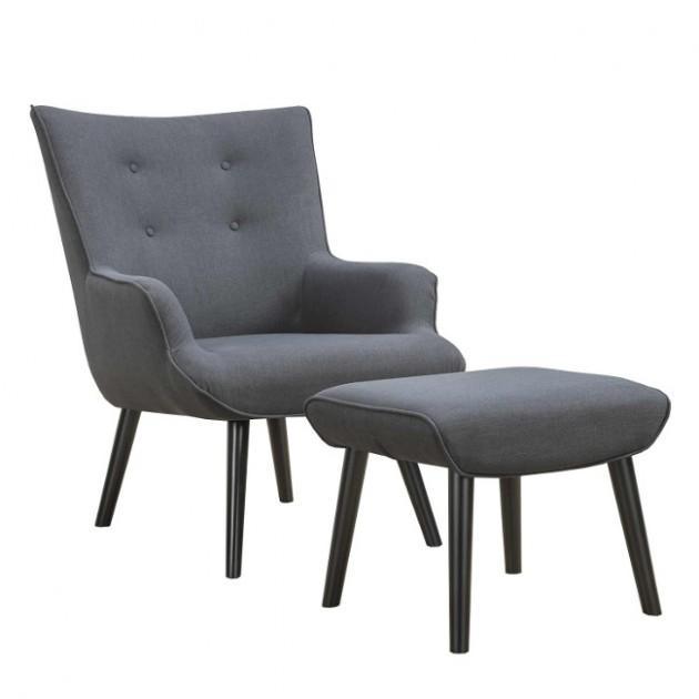 Крісло з підставкою для ніг Wester (2156) - Крісла для ресторана Home4You
