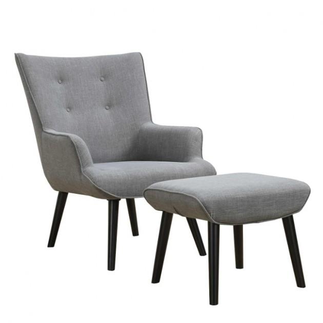 Крісло з підставкою для ніг Wester (21561) - Крісла для ресторана Home4You