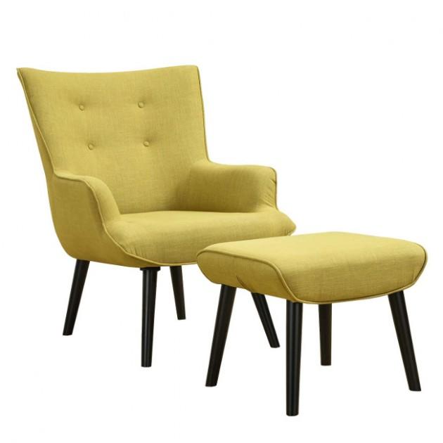 Крісло з підставкою для ніг Wester (21562) - Крісла для ресторана Home4You