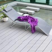 Шезлонг з текстилену Batya (10032) - Пляжні шезлонги Garden4You