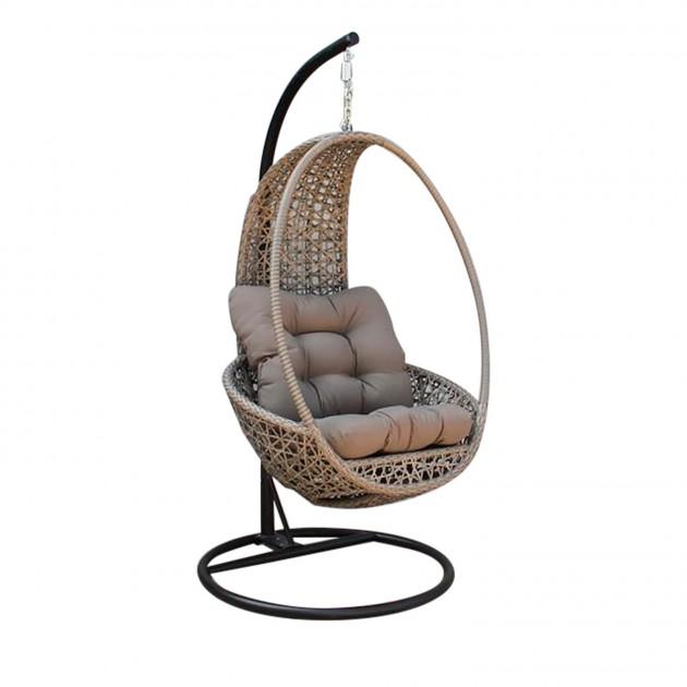 Плетене підвісне крісло Pangolin (20919) - Підвісні крісла Garden4You