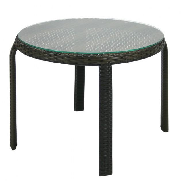 Допоміжний столик Wicker (13356) - Кавові столики Garden4You