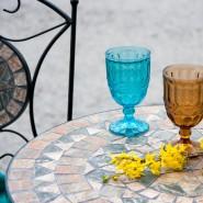 Круглий садовий стіл Mosaic (38664) - Обідні столи Garden4You