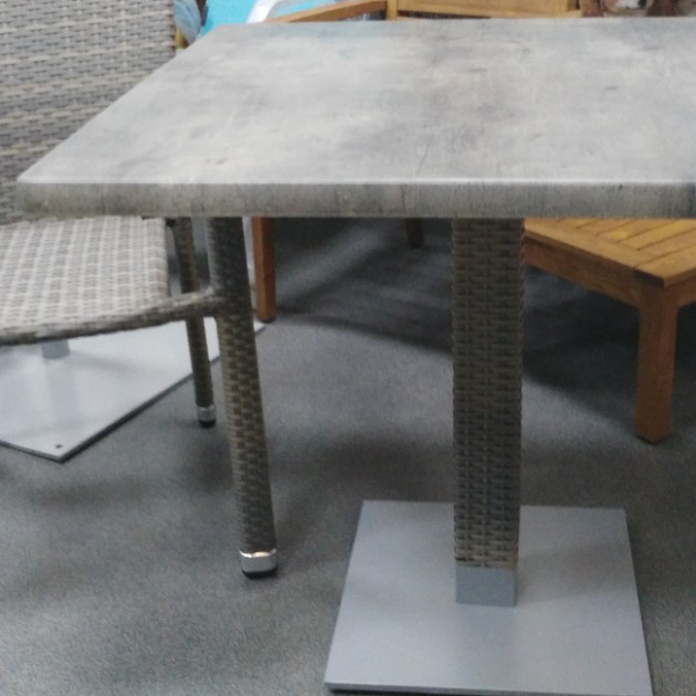 Квадратний стіл Larache (k20918) - Обідні столи Garden4You