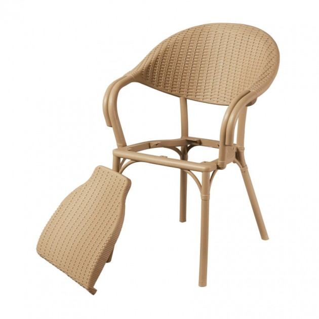 Крісло Giò Tortora (33071) - Стільці для вуличних кафе Antiga
