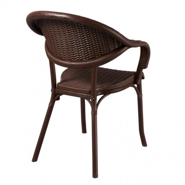 Крісло Giò Wenge (33076) - Стільці для вуличних кафе Antiga