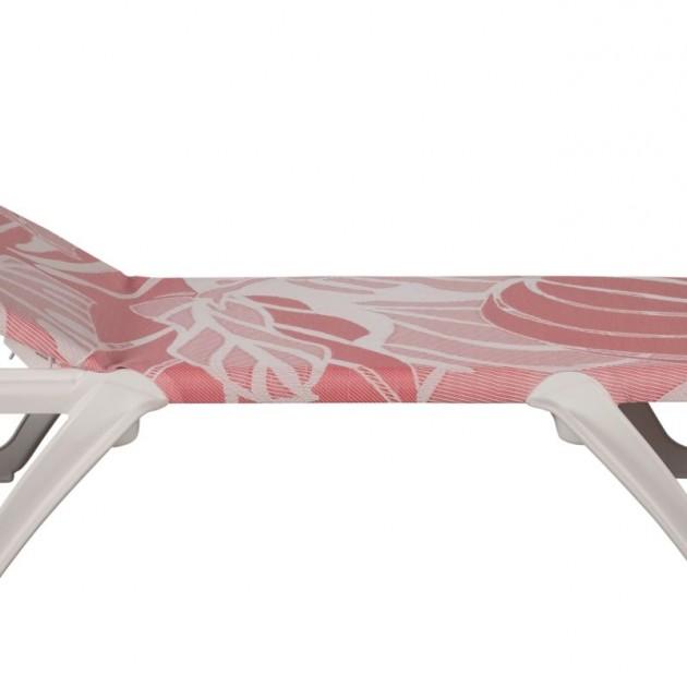 Пляжний шезлонг Eva Pro Lara Costafreda Red Flowers (3122BU) - Пляжні шезлонги Balliu