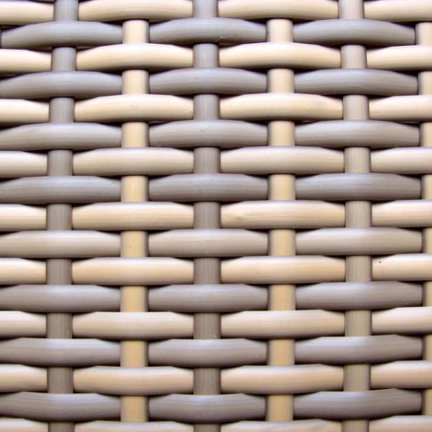 Стілець з підлокітниками Wicker Cappuccino (13360) - Стільці для літніх кафе Garden4You