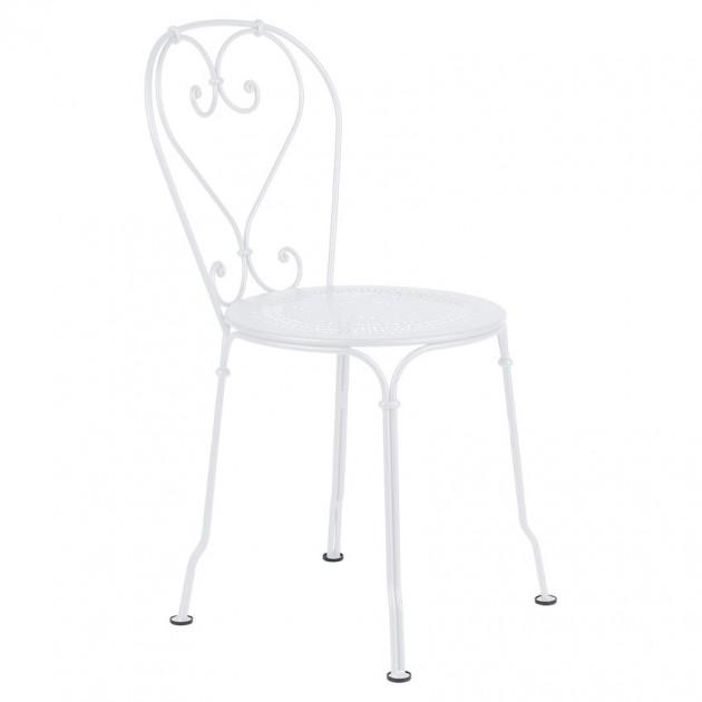 Садовий стілець 1900 White Cotton (220101) - Стілець 1900 Fermob
