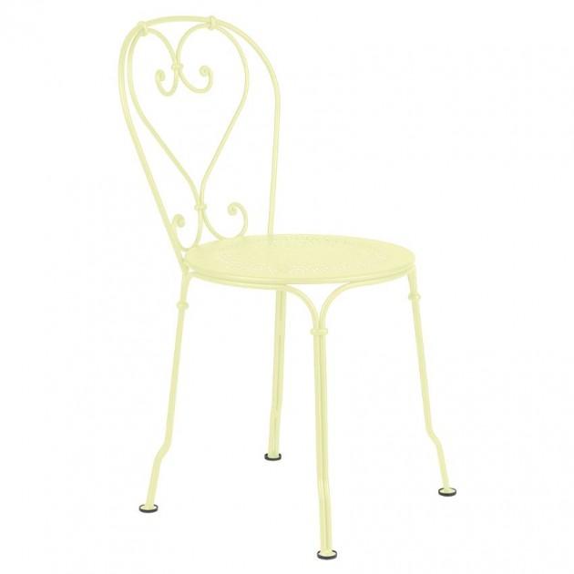 Садовий стілець 1900 Frosted Lemon (2201a6) - Стілець 1900 Fermob