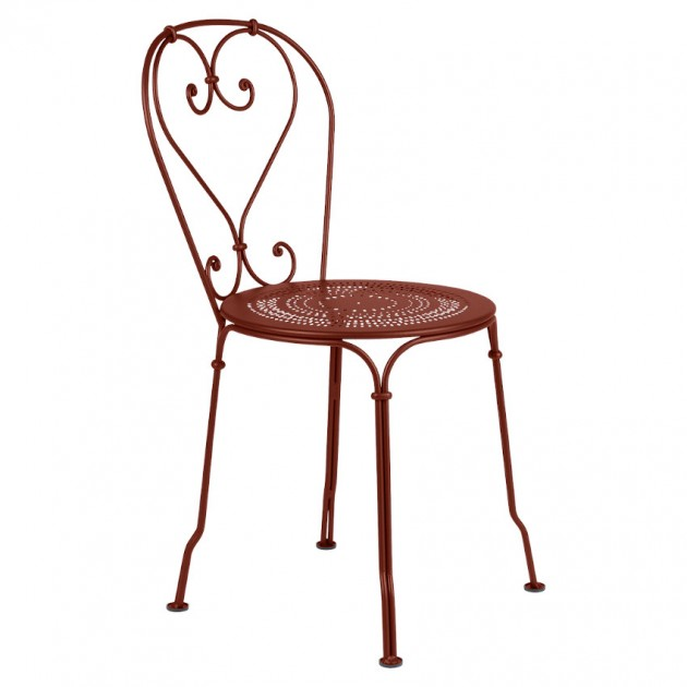Садовий стілець 1900 Red Ochre (220120) - Стілець 1900 Fermob