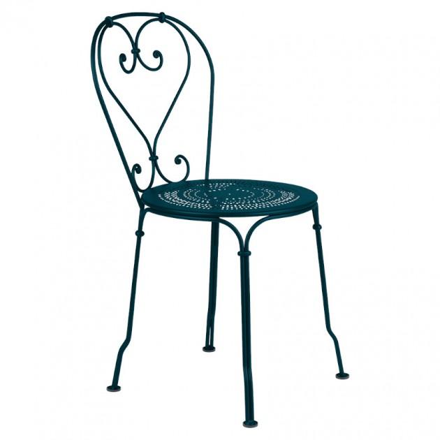 Садовий стілець 1900 Acapulco Blue (220121) - Стілець 1900 Fermob