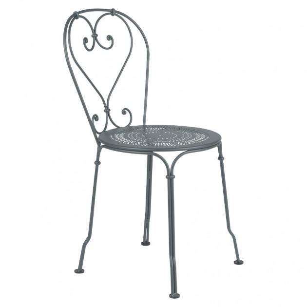 Садовий стілець 1900 Storm Grey (220126) - Стілець 1900 Fermob