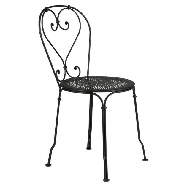 Садовий стілець 1900 Liquorice (220142) - Стілець 1900 Fermob