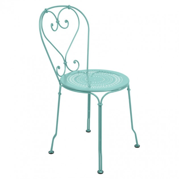 Садовий стілець 1900 Lagoon Blue (220146) - Стілець 1900 Fermob