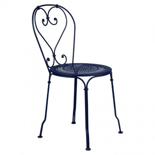 Садовий стілець 1900 Deep Blue (220192) - Стілець 1900 Fermob