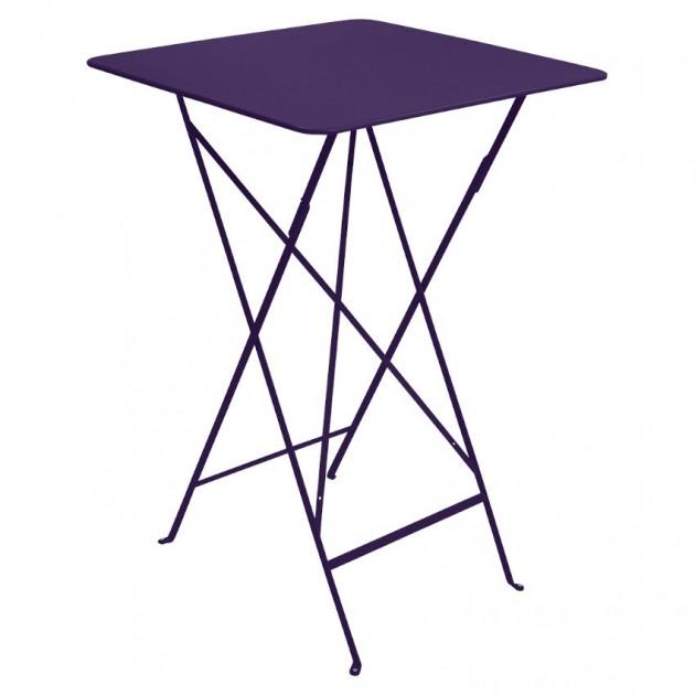 Барний стіл Bistro 0250 Aubergine (025028) - Барний стіл Bistro Fermob