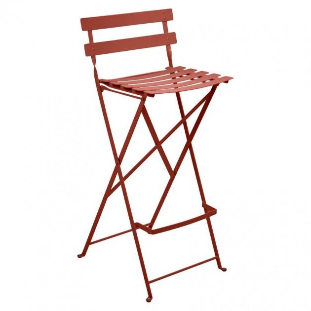 Барний стілець Bistro Red Ochre (511320) - Барний стілець Bistro Fermob