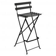 Барний стілець Bistro Liquorice (511342) - Барний стілець Bistro Fermob