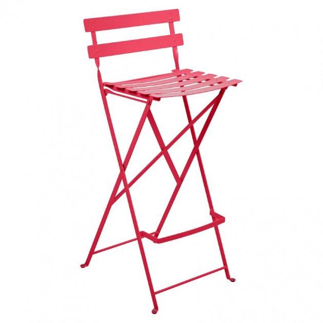 Барний стілець Bistro Pink Praline (511393) - Барний стілець Bistro Fermob