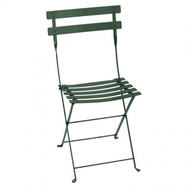 Cкладаний стілець Bistro 0101 Cedar Green (010102) - Стілець Bistro Metal Fermob