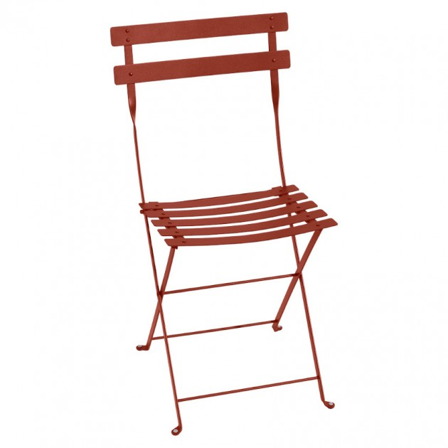Cкладаний стілець Bistro 0101 Red Ochre (010120) - Стілець Bistro Metal Fermob