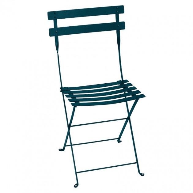 Cкладаний стілець Bistro 0101 Acapulco Blue (010121) - Стілець Bistro Metal Fermob