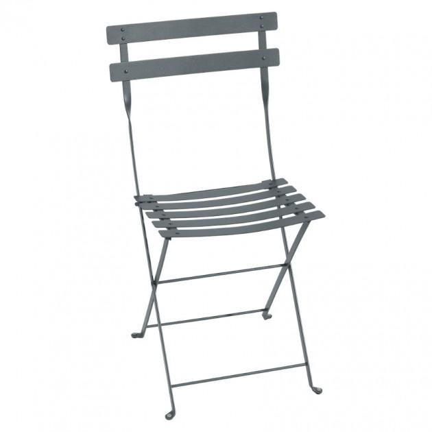 Cкладаний стілець Bistro 0101 Storm Grey (010126) - Стілець Bistro Metal Fermob