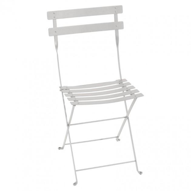 Cкладаний стілець Bistro 0101 Steel Grey (010138) - Стілець Bistro Metal Fermob