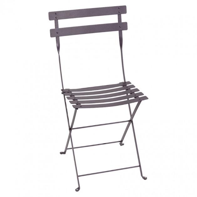 Cкладаний стілець Bistro 0101 Plum (010144) - Стілець Bistro Metal Fermob