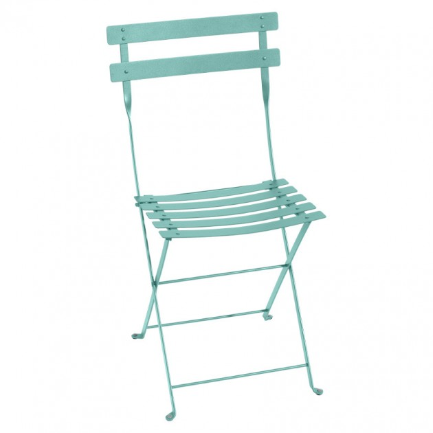 Cкладаний стілець Bistro 0101 Lagoon Blue (010146) - Стілець Bistro Metal Fermob