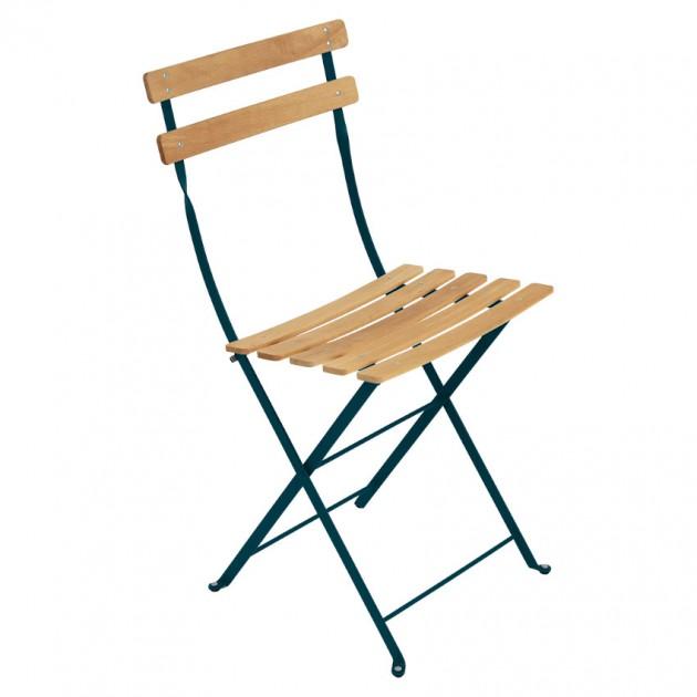 Cкладаний стілець Bistro Natural 5107 Acapulco Blue (510721) - Стілець Bistro Naturel Fermob