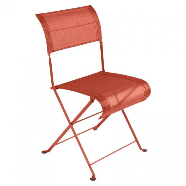 Складаний стілець Dune Paprika (120133) - Стілець Dune Fermob