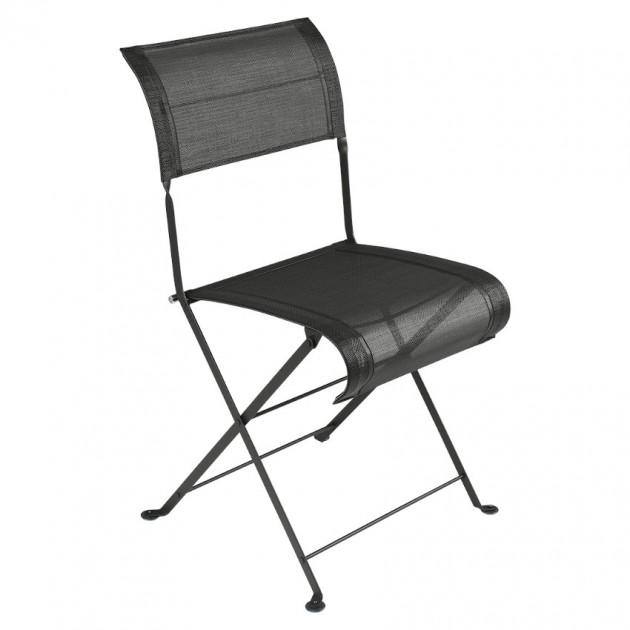 Складаний стілець Dune Liquorice (120142) - Стілець Dune Fermob