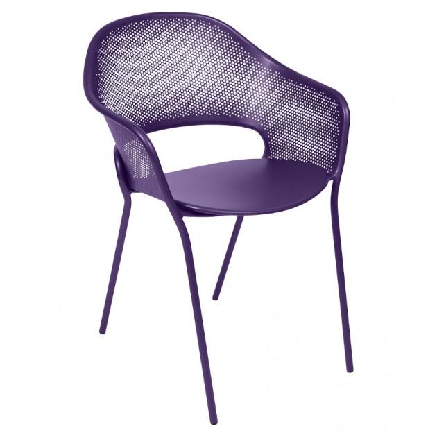 Садове крісло Kate Aubergine (730228) - Крісло Kate Fermob