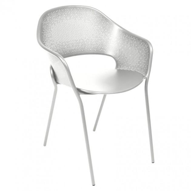 Садове крісло Kate Steel Grey (730238) - Крісло Kate Fermob