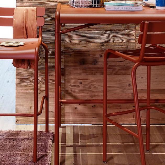 Барний стілець Luxembourg 4103 Russet (410309) - Барний стілець Luxembourg Fermob